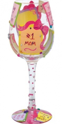 Lolita Love My Wine Glass, #1 Mom