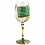 Santa Barbara Design Studio GLS11-5526P Lolita Love My Wine Hand Painted Glass, Teacher's Time Out