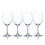 Mikasa Laura White Wine (Set of 4), 15 oz., Clear