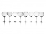 Mikasa Cheers Balloon Goblet Stemware, 25-Ounce, Set of 8