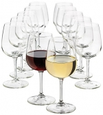 Libbey 12.5-Ounce Wine Party Glass, 12-Piece Set