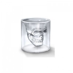 2 X 1 X Crystal Skull Shotglass,crystal Skull Pirate Shot Glass Drink Cocktail Beer Cup